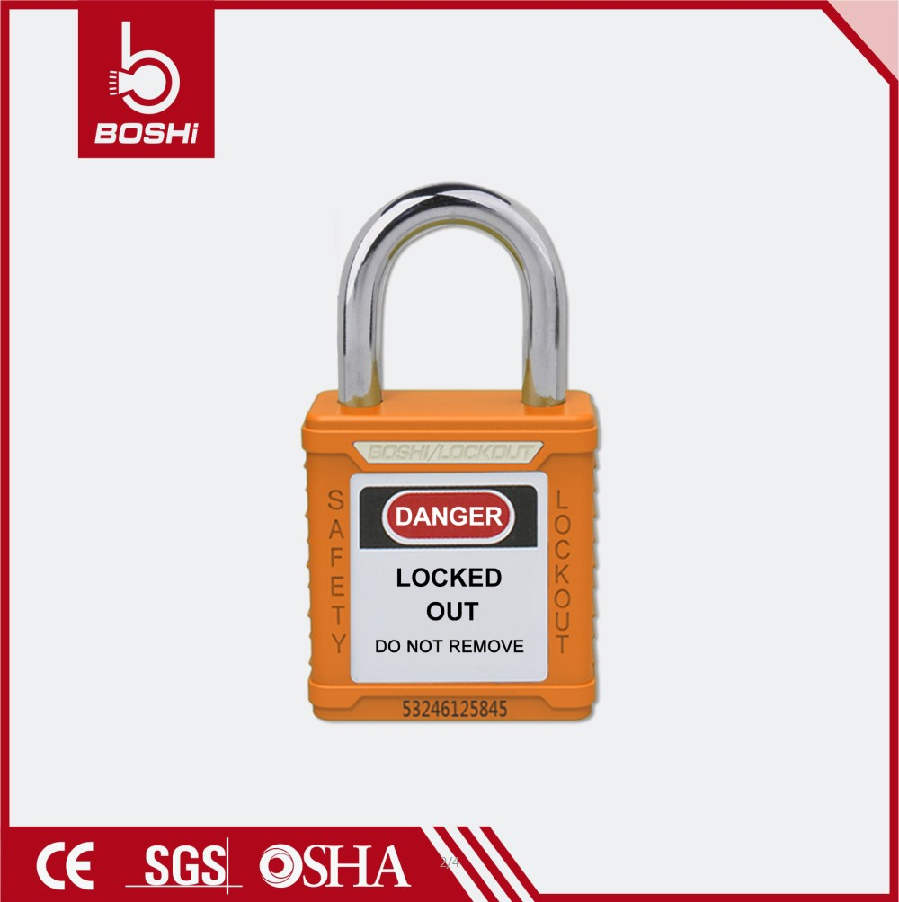 25mm Short Steel Shackle Safety Padlock BD-G51
