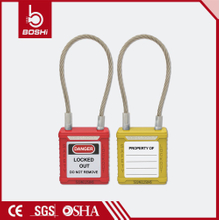 Wire Safety Padlock BD-G41~BD-G48