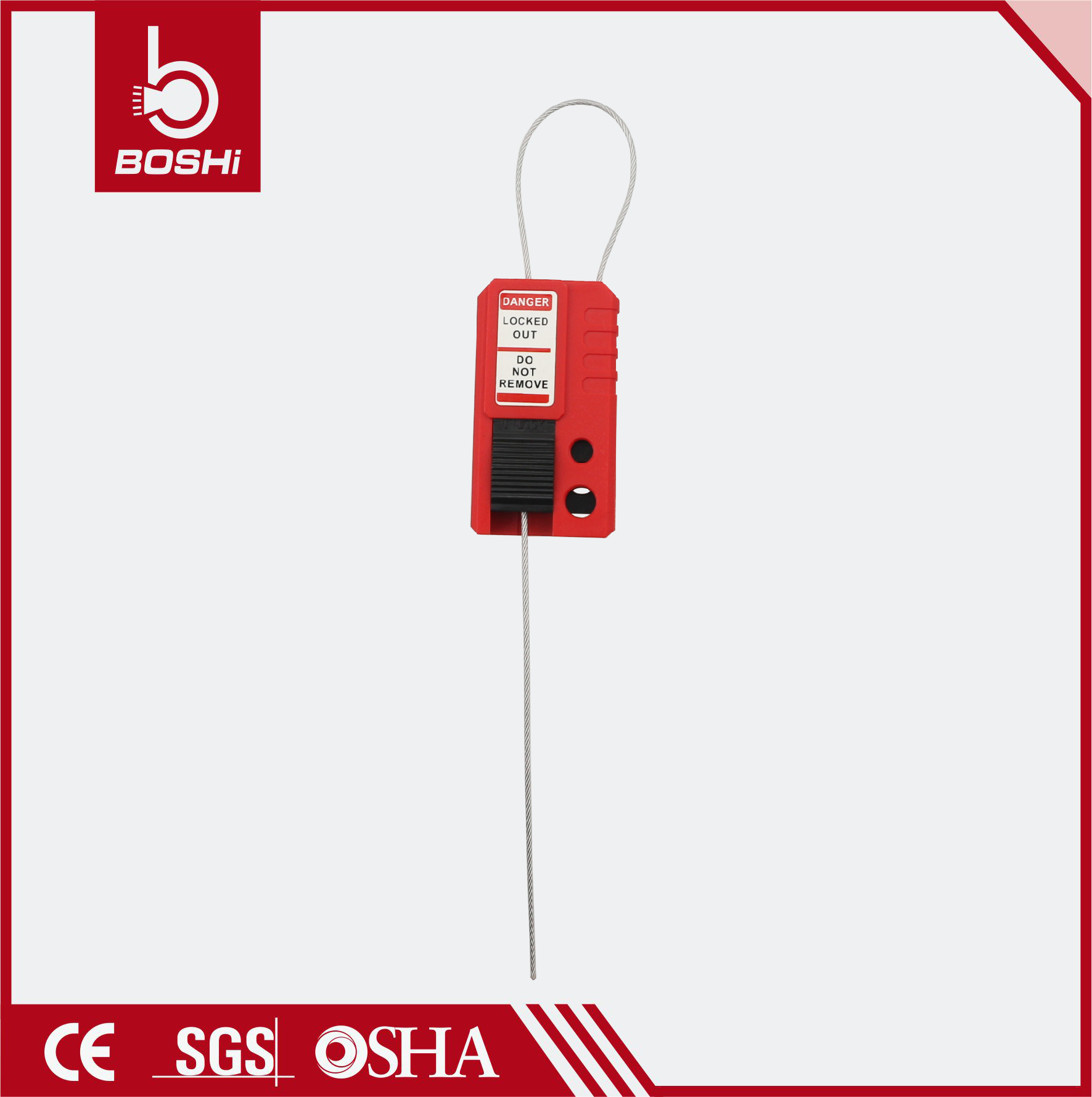 Cable Lockouts BD-L42