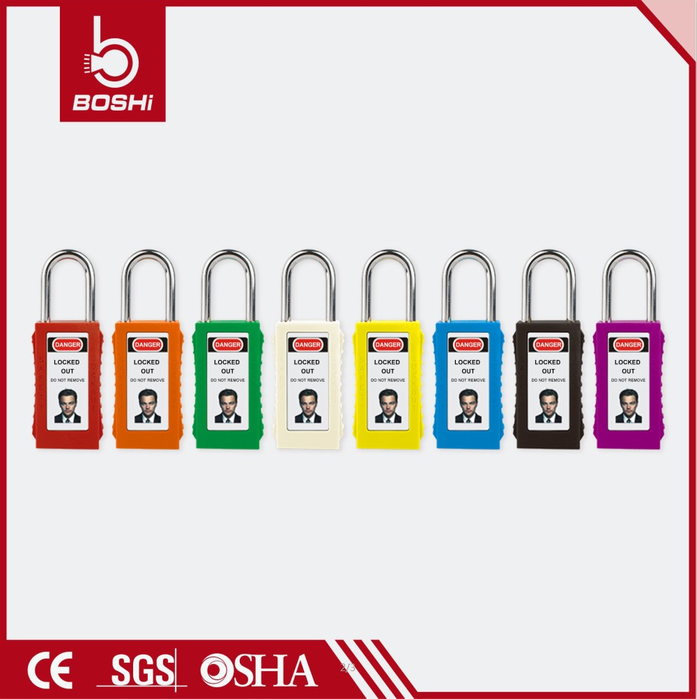 75mm Body Length Safety Padlock BD-G81 with Keys