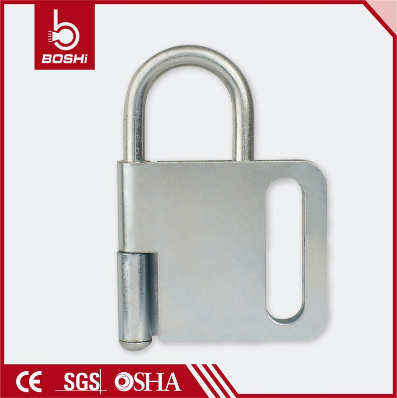 gray and steel Butterfly Lockout Hasp BD-K31