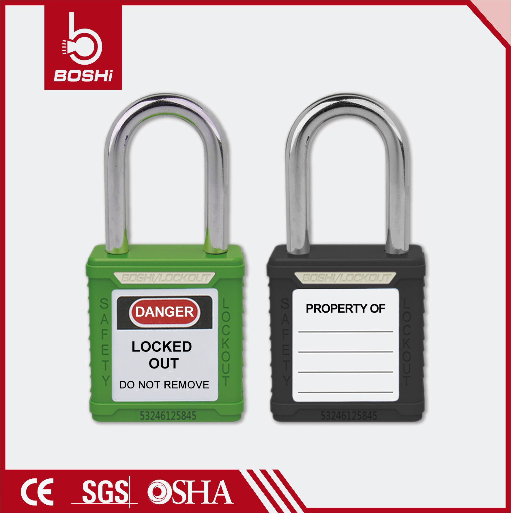 high security master Padlock BD-G03 with key